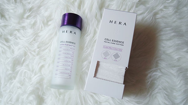 HERA Cell Essence Double Effect Facial Cotton Pads